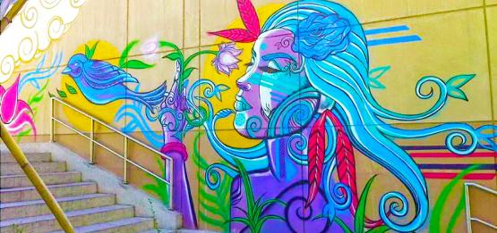 See photos that capture bonifacio global city zipmatch for Bonifacio mural painting