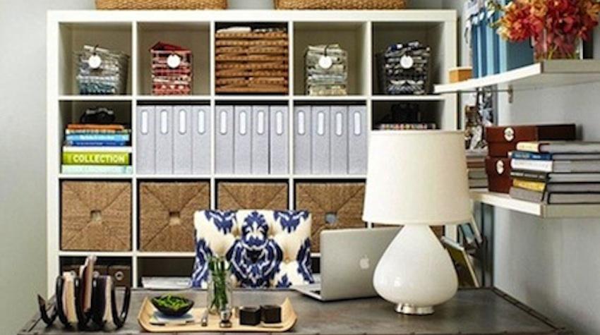 organized shelf