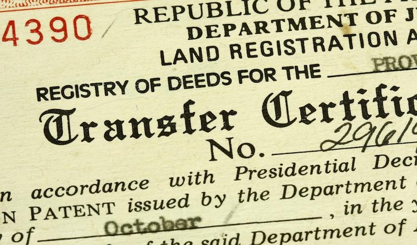 12 Ways to Detect Fake Land Titles - ZipMatch