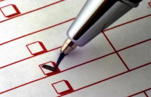 1 checklist