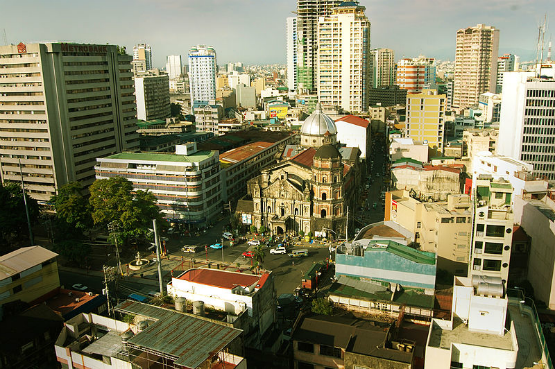 binondo church aerial