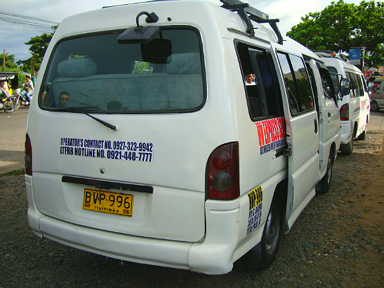 uv van public transport