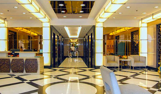 solemare parksuites lobby