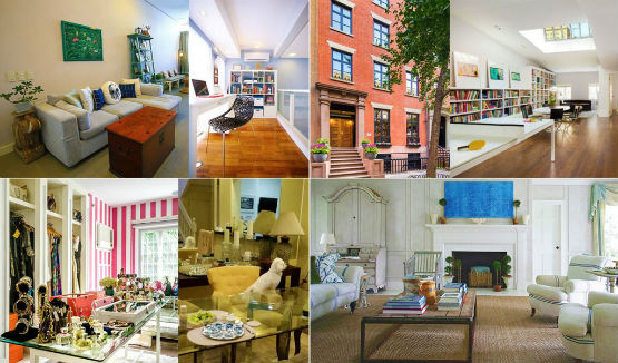 celebrity townhouses