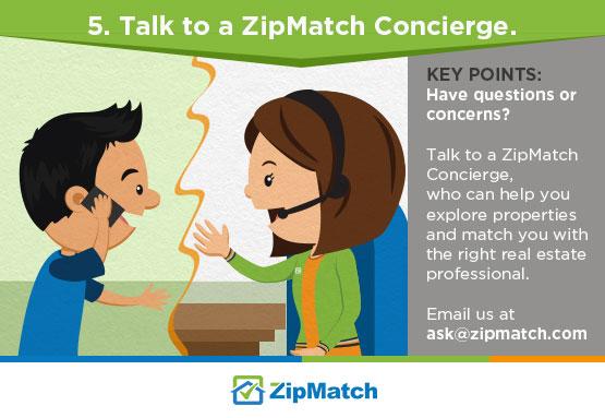 talk to zipmatch