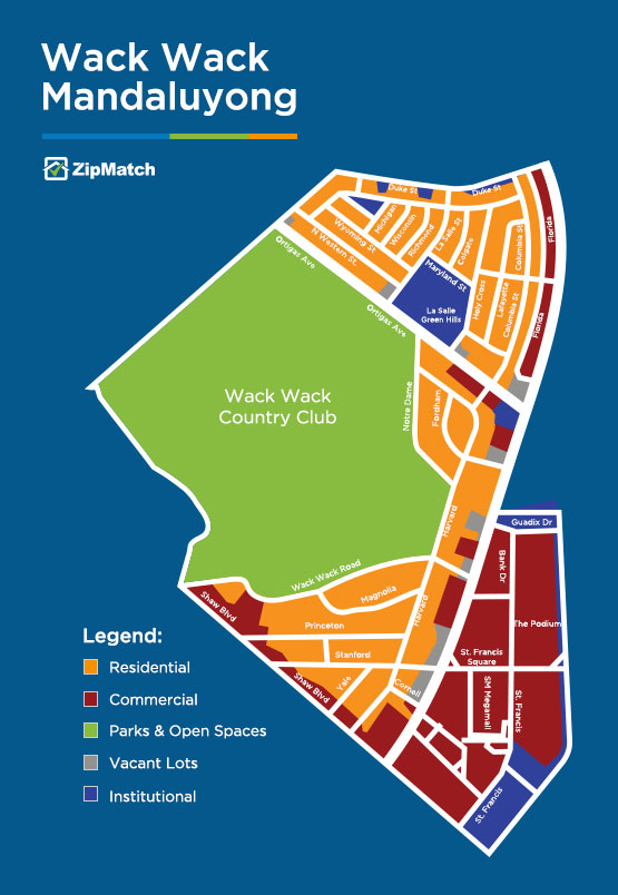 wack wack mandaluyong land use map