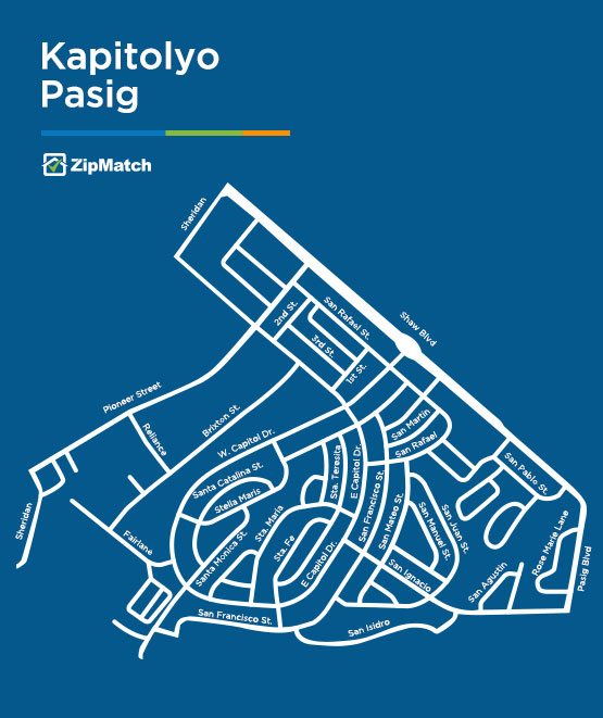Kapitolyo Pasig Map