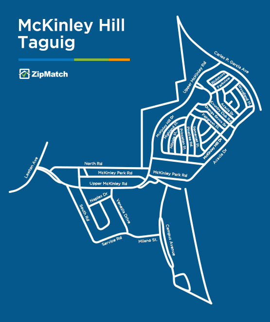 McKinley-Hill-Taguig-Map