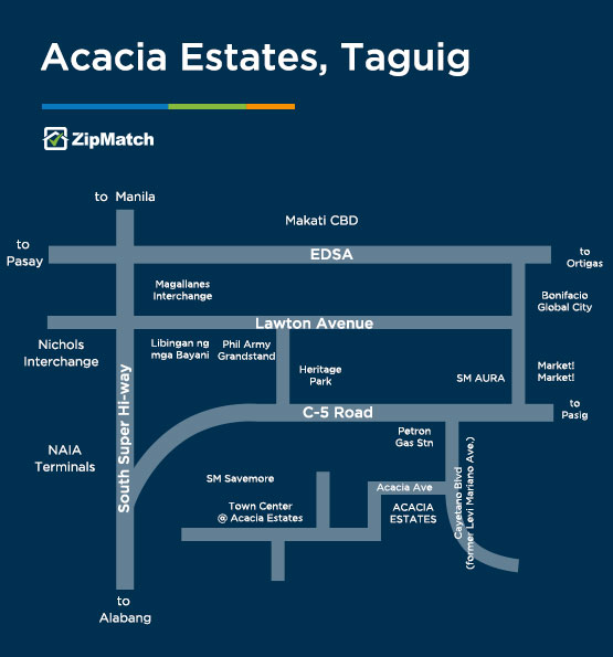 Your Neighborhood Guide to Acacia Estates, Taguig | ZipMatch